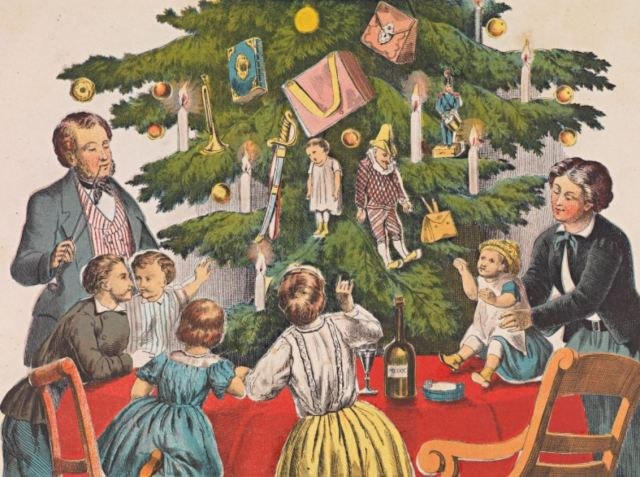 Christmas about 1860